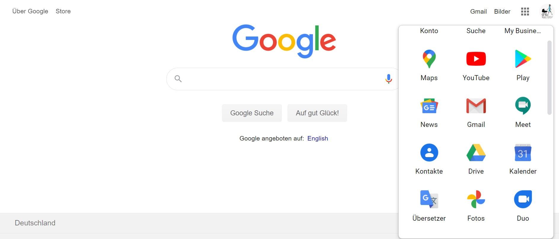 Google-Tool-Box in google Chrome