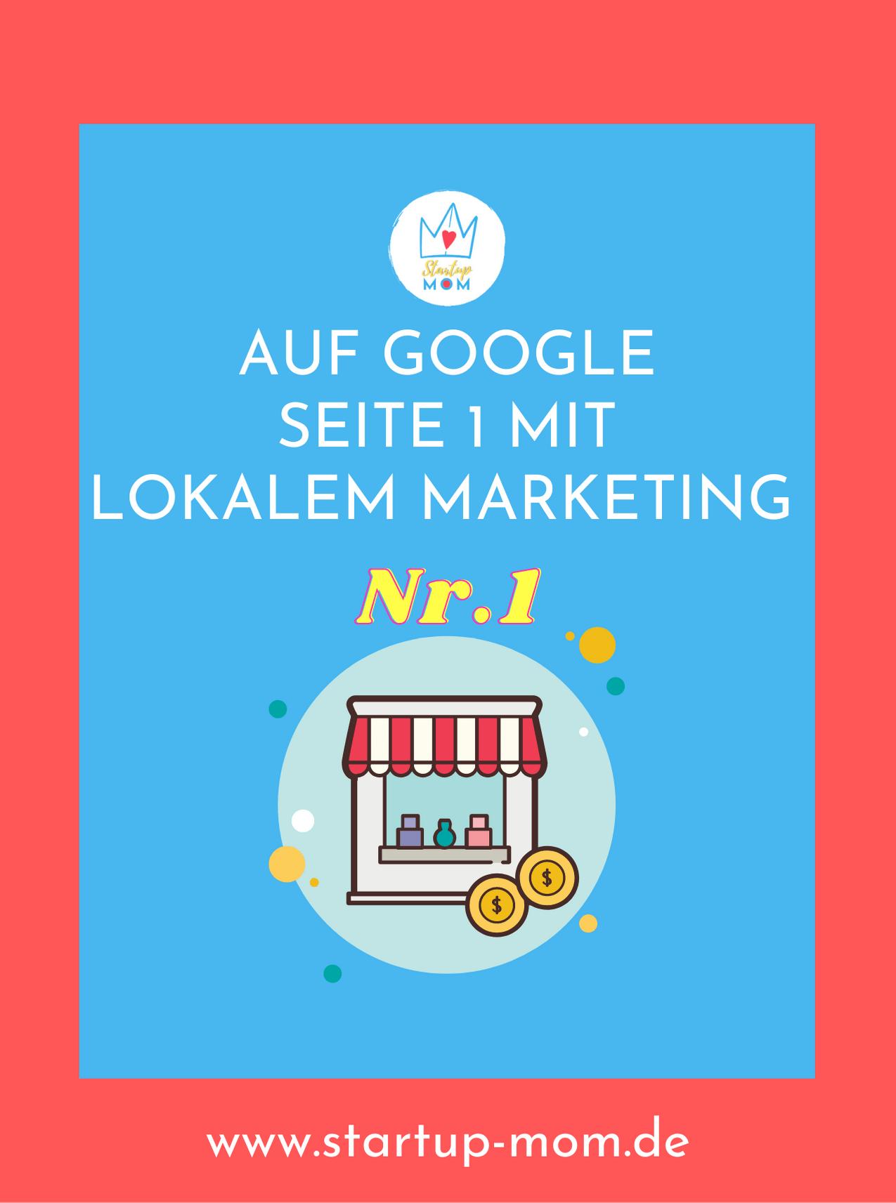 SEO mit lokalem Marketing - Freebie zum Download von Startup-mom.de